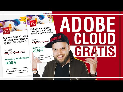 Adobe Creative Cloud kostenlos! Geld sparen!   Milou PD Adobe Cloud Gratis