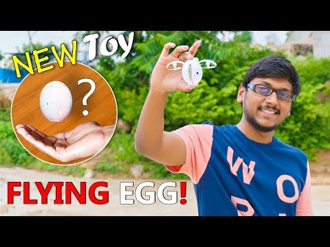Transforming EGG Drone with Selfie Camera | KaiDeng K130 Alpha Drone Review