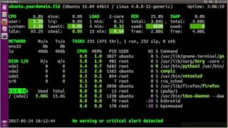 Glances Installation  A Real Time Linux System Monitoring Tool