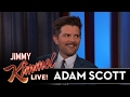 Adam Scott's Son Stole From Jimmy Kimmel