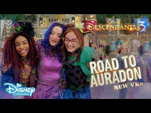Descendants 3 | BEHIND THE SCENES: Road To Auradon #6 - New VKs ✨ | Disney Channel UK