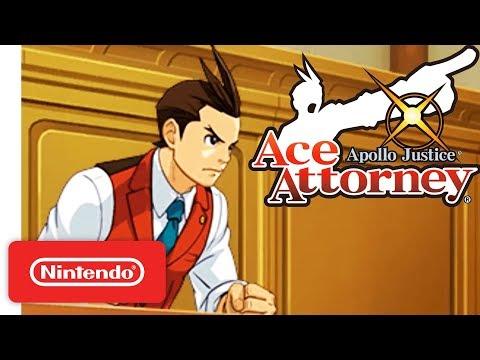 Apollo Justice: Ace Attorney Launch Trailer - Nintendo 3DS