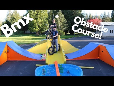 Bmx Obstacle Course!!