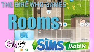 The Sims Mobile- Adding, Resizing and Deleting Rooms