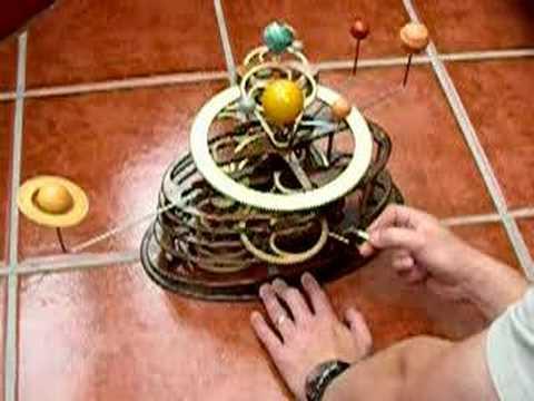 gibt es auch andere mechanische planetarien als das kopernikusplanetarium aus pappe yahoo clever. Black Bedroom Furniture Sets. Home Design Ideas