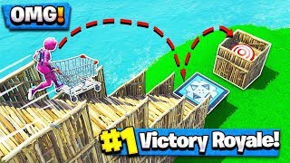 *NEW* PLAYGROUND MODE - TARGET PRACTICE GAME (Fortnite Battle Royale)