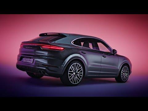 Porsche Cayenne Coupe Кроссовер класса J - рекламное видео 2