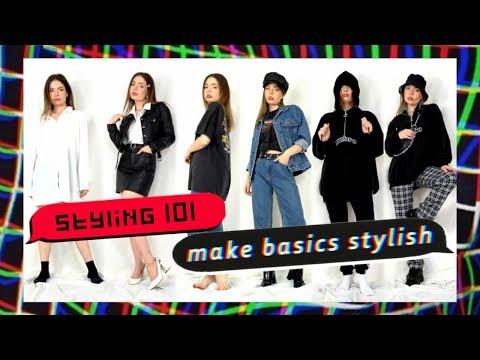 make BASIC outfits STYLISH!
