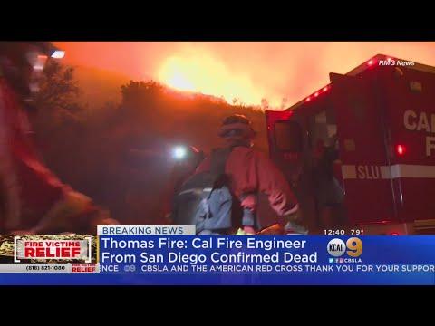 Cal Fire Engineer Dies In Thomas Fire