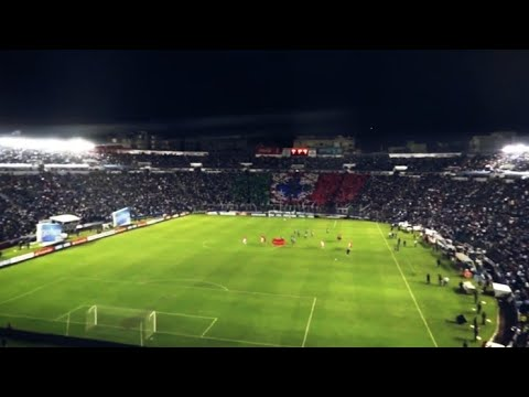 """La Sangre Azul • Recibimiento • Cruz Azul vs Corinthians • Copa Libertadores 2012"" Barra: La Sangre Azul • Club: Cruz Azul"