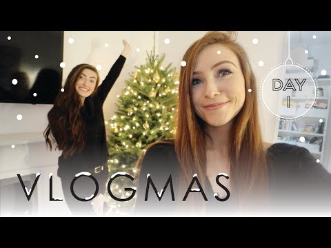 IT'S BACK!!! | VLOGMAS 2017 Day 1