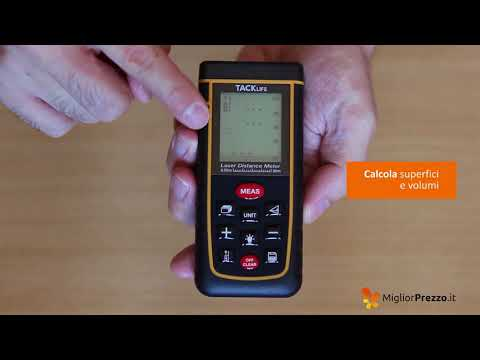 Telemetro Laser Tacklife A-LDM01