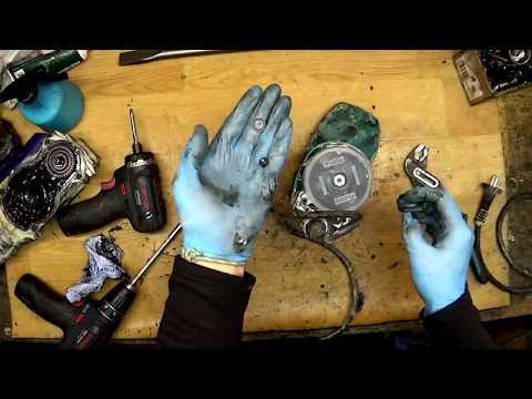 Makita HR4010C SDS MAX rotary hammer drill disassemble broken connection rod