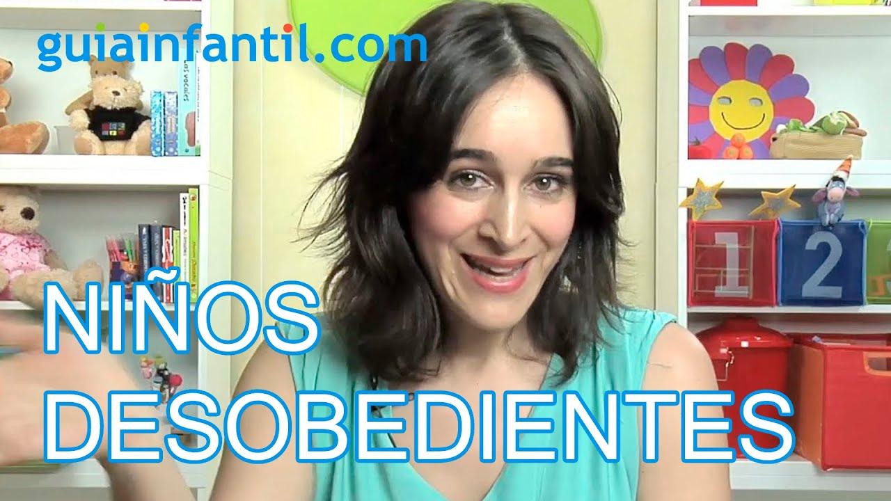 Niños desobedientes - Cómo conseguir que el niño obedezca