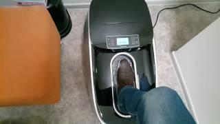 Самоодевающиеся бахилы как самозашнуровывающиеся кроссовки Nike