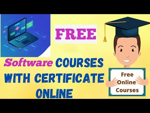 Free software engineering courses with certificates | free online software engineering courses