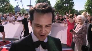 Andrew Scott - Red Carpet (2012 BAFTA TV)