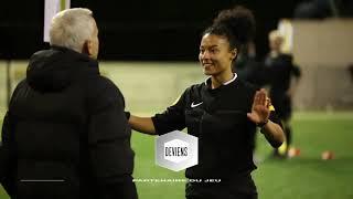 Arbitre féminin de football - FFF