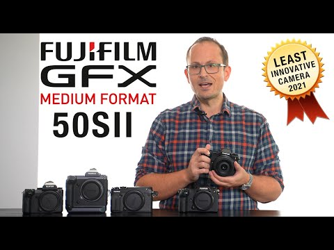 Fujifilm GFX 50SII - Hands On