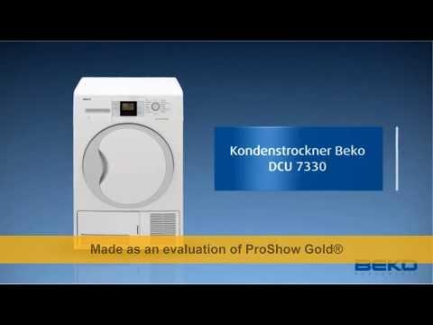 Beko DCU 7330 Kondenstrockner / B / 504 kWh/Jahr / 7 kg / Weiß / Multifunktionsdisplay