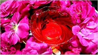 How To Make ROSE Essential Oils At Home And BENEFITS || AYURVEDA