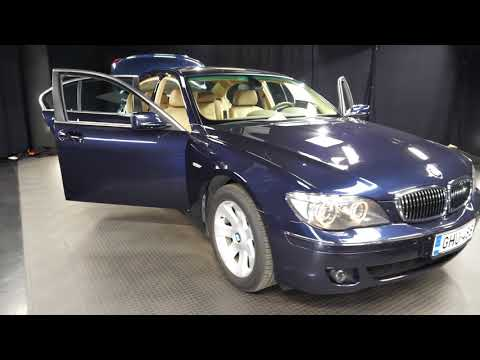 BMW 7-sarja 740 i 4d A ***TARJOUS***, Sedan, Automaatti, Bensiini, GHU-488