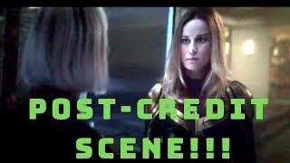 Captain Marvel POST-CREDIT SCENE LEAKED!