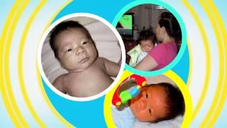 Слайд шоу Корейский годик «Асянди» рождения ребенка.