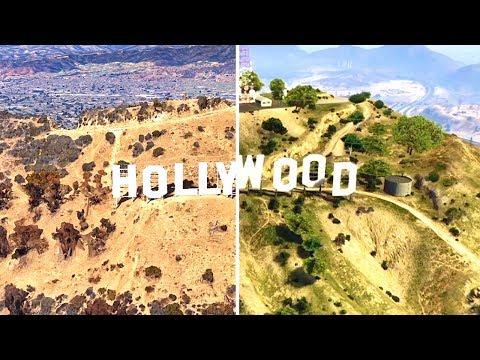 GTA V vs Google Earth