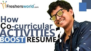 How Co-curricular Activities boost your resume II Resume Building