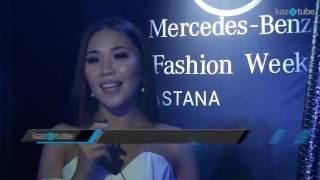 F  LIFE  Асия Данияр   Mercedez Benz Fashion Week Astana