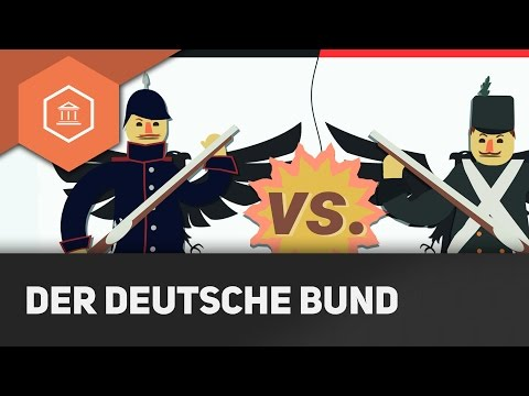 Das Deutsche Reich vor der Einigung - Deutscher Bund und Flickenteppich ● Gehe auf SIMPLECLUB.DE/GO
