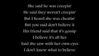 Cherish featuring Nephu - He Said, She Said w/ Lyrics