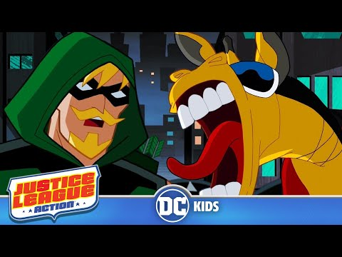 Justice League Action | Super Stakeout | DC Kids