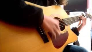 "Jon Pardi's ""Trash A Hotel Room"" acoustic guitar cover"