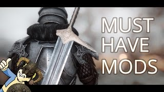 MUST HAVE! SKYRIM - 20 USEFUL MODS