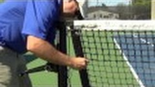 Tennis net - 4.60mm video