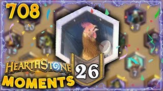 CHAT RANK 26 BE LIKE...!!   Hearthstone Daily Moments Ep. 708
