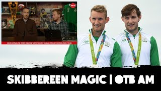 """They weren't happy with silver in 2016. They're winners!"" 