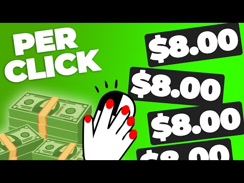 Get Paid $8.00 Per Click For FREE (NEW Way To Make Money Online)