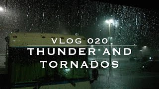 Tornado Warning + Severe Weather in an RV
