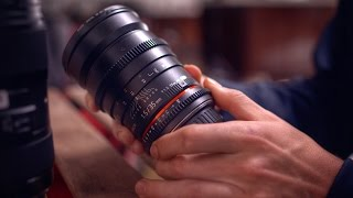 The BEST Lenses for DSLR Video!