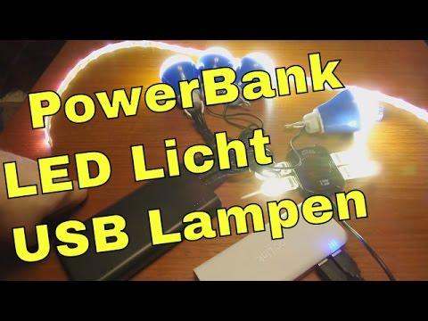 Freie Energie - PowerBank LED Lampen Beleuchtung für Camping Outdoor Zimmerbeleuchtung Abends