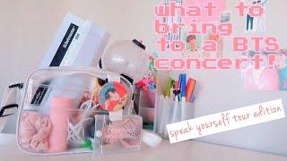 BTS Love Yourself: Speak Yourself Concert - What's In My Bag