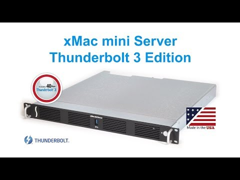 xMac mini Server Thunderbolt 3 to PCIe Card Expansion System