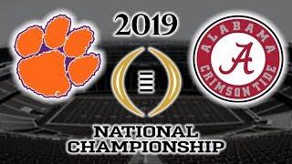 Clemson vs Alabama Football 2019 National Championship Game Highlights