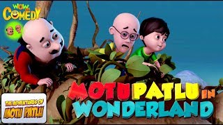 Motu Patlu In Wonderland | Movie | WowKidz Comedy
