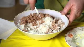 Салат из тунца рецепт. Вкусно!