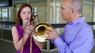 The Trombone Horn Challenge on Sarah´s Music!