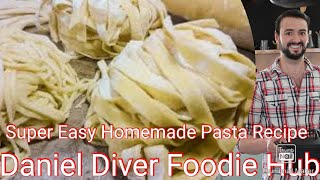 How to make pasta with basic ingredients and no machine